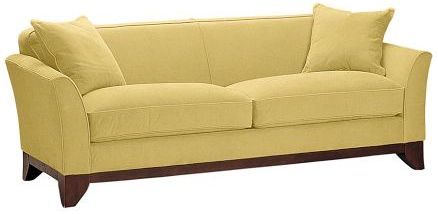Yes to yellow: Remodel Ideas, In Style, Decor Ideas, Color, Decorating Ideas, Style Pinboard, Yellow Sofa, Pottery Barn