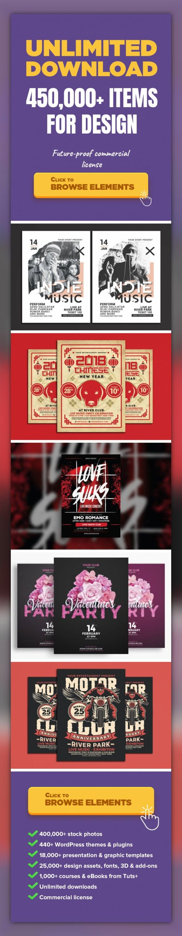 Indie Music Flyer Graphic Templates, Print Templates alternative, band, concert, concert, flyer, festival, gig, gigs, guitar, modern, pop, rock, sound, indie, music   SPECIFICATIONS : Psd Files CS 5 Dimensions: 8.27x11.69 in size with bleeds Resolution: 300 dpi CMYK / ready for print Editable fonts/text Easy to change colors Well Organize Layer Model Not Includeyou can find font used at readme fil...