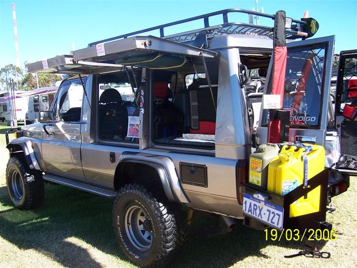 Toyota LandCruiser HZJ78 Expedition Vehicle