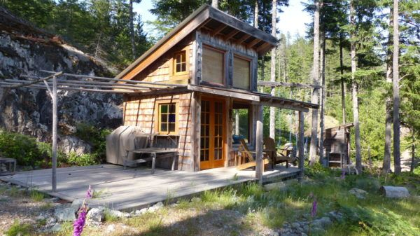 Off-Grid Tiny Cabin For Sale on 5 Acres 001