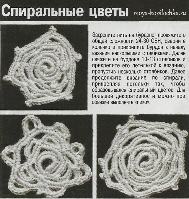 13 приемов вязания на бурдоне - Вязание - Моя копилочка
