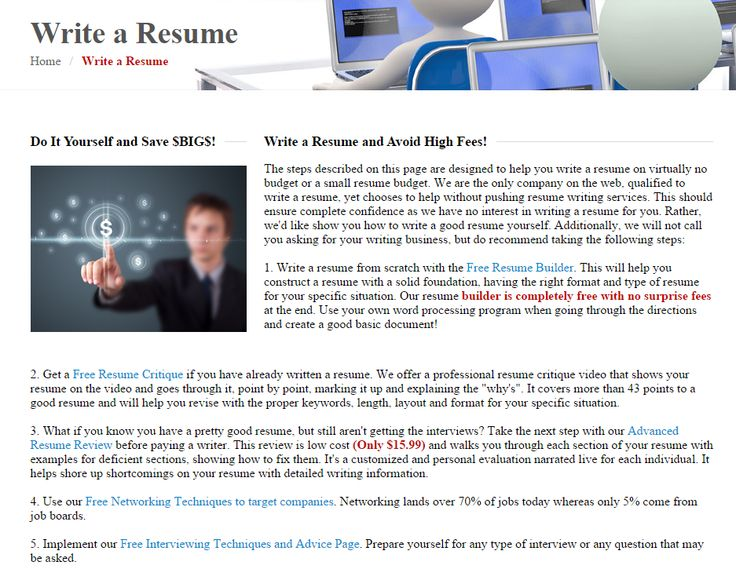 about us - How To Create A Resume From Scratch