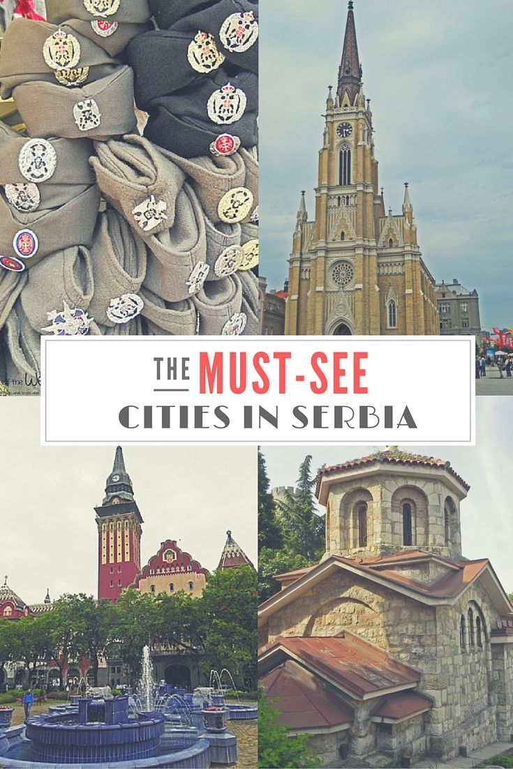 The must-see Cities in Serbia