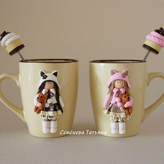 Hrníčky na kakao • panenky