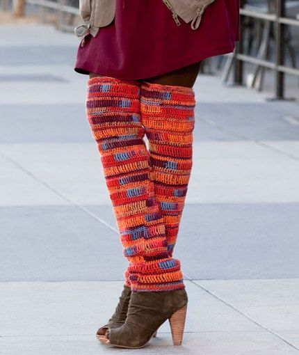 Knitting Pattern For Thigh High Leg Warmers : 712 best images about Crochet patterns on Pinterest Free ...