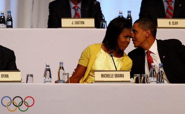 Michelle Obama Barack Obama Photos - IOC 2016 Olympic Venue Announcement - Day Two - Zimbio
