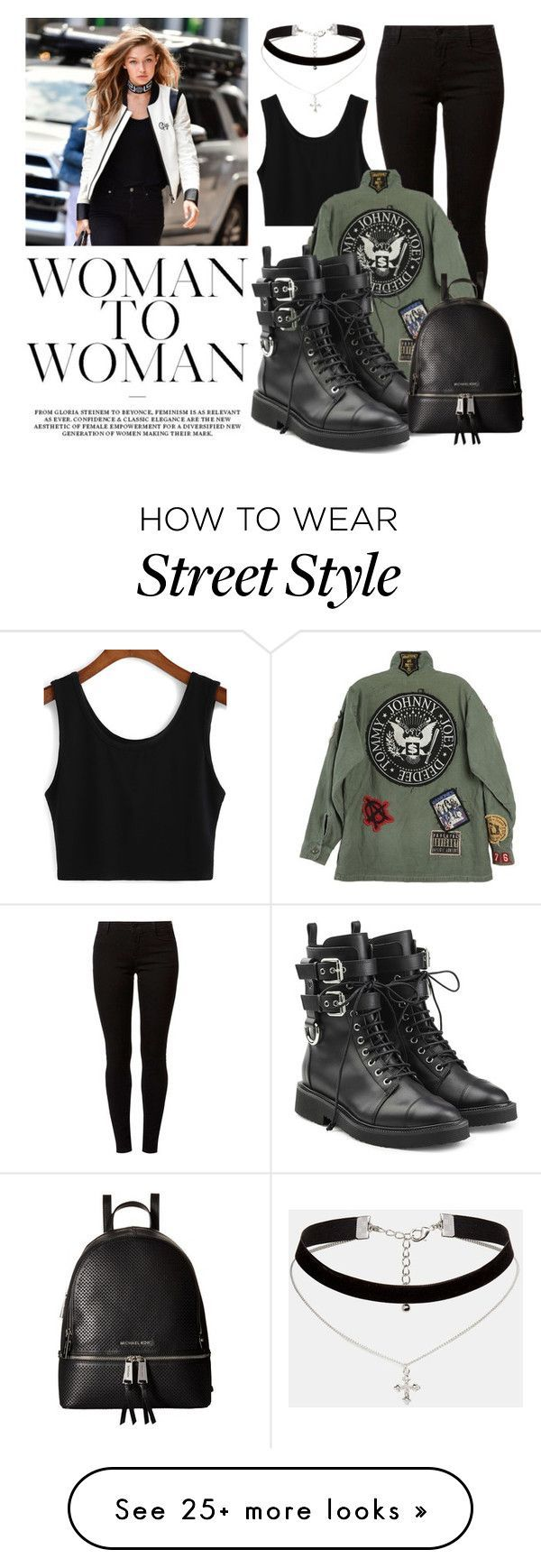 Gigi by lululafitte on Polyvore featuring Dorothy Perkins, ASOS, Giuseppe Zanotti and MICHAEL Michael Kors