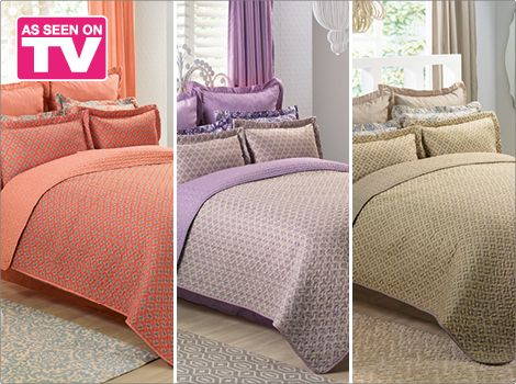 Ashton Quilt Set Bedding Homechoice Bedroom Quilt