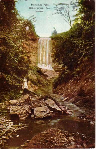 Horseshoe Falls in Stoney Creek