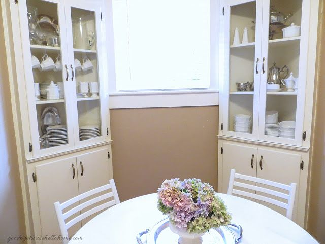Wonderful Built In Corner Cabinets 1938 House At Goodbye Hello Home