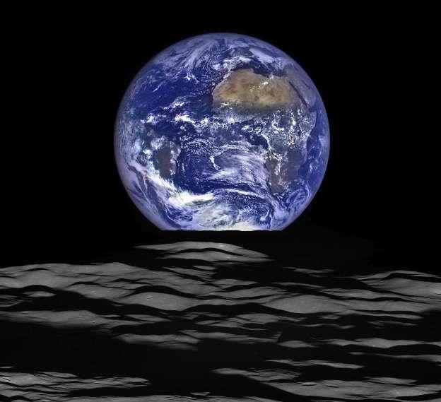 Nasa publica foto de la Tierra tomada desde Marte