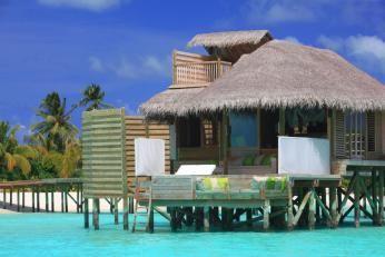 Water Villa på Six Senses Laamu, Maldiverne
