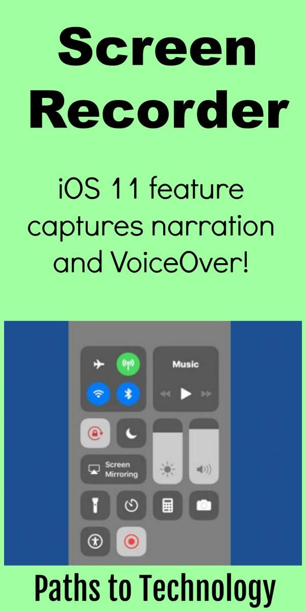 iOS 11 has a Screen Recorder feature, which enables you to capture a video recording of what you are doing on your iPhone or iPad - the video even captures your voice narration and VoiceOver!