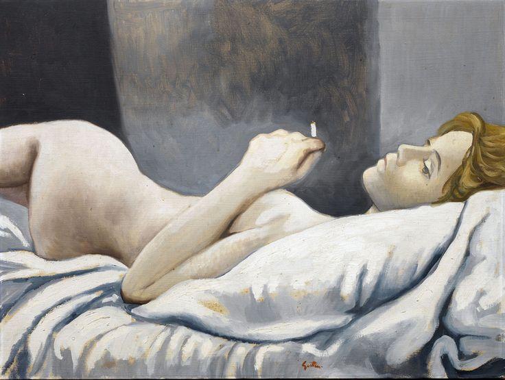 Renato Guttuso. Nude lying, 1963 - Katarte