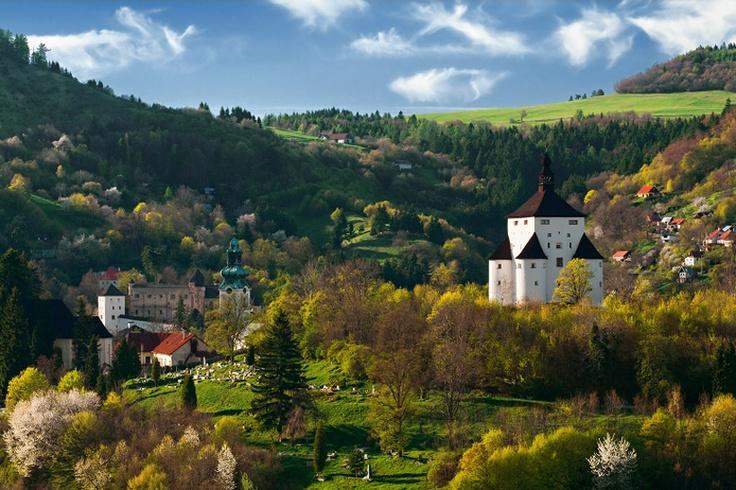 Banská Štiavnica, Nový a Starý zámok, Slovakia - autor: LuMaX