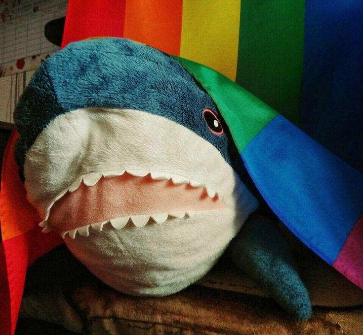 Картинки для рабочего стола акула из икеи
