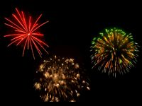 animated fireworks gif free | 4th of July animated fireworks Background
