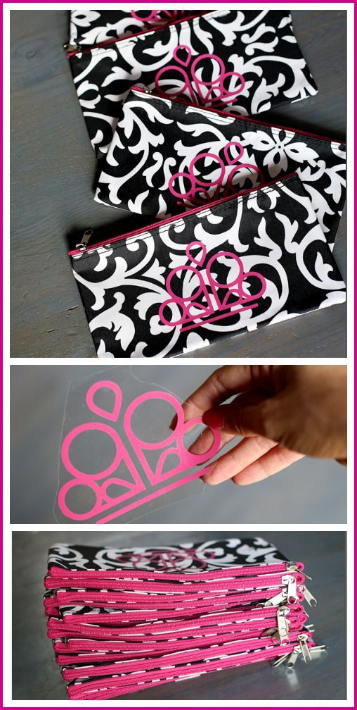 Paparazzi Accessories DIY zipper pouch - team gift idea