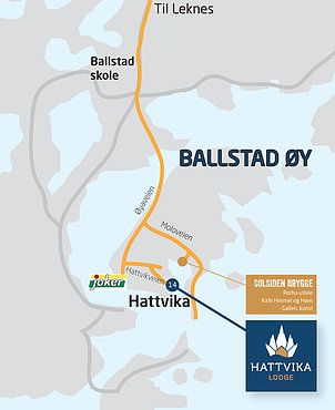 Here we are in Ballstad Lofoten Norway #HattvikaLodge