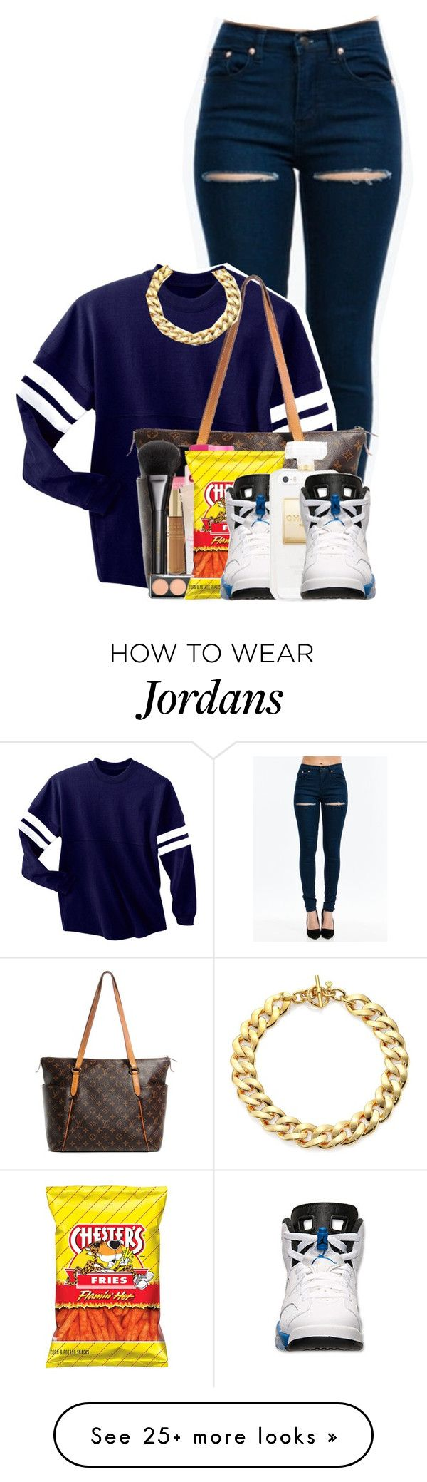 """Hey trendsetter,see the fire when the strobe hits you."" by lovejaycii on Polyvore featuring Louis Vuitton, Retrò and Michael Kors"