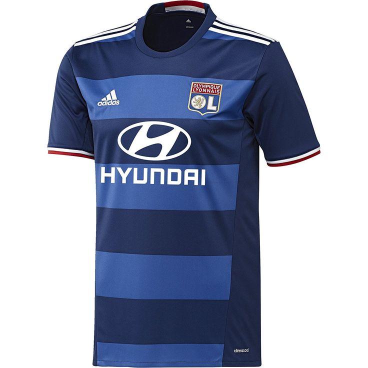 Olympique Lyonnais extérieur 2015/16-Maillot Officiel adidas. #olympique_lyonnais #maillot #adidas #ol #team_ol #foot #football #supporter_attitude #football_attitude #sport_attitude #sport