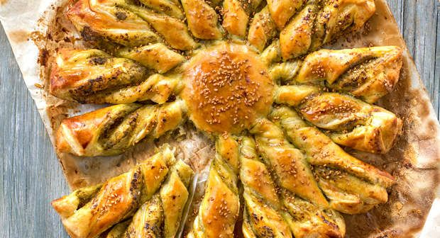 Tarte soleil, Voir la recette de la Tarte soleil >>