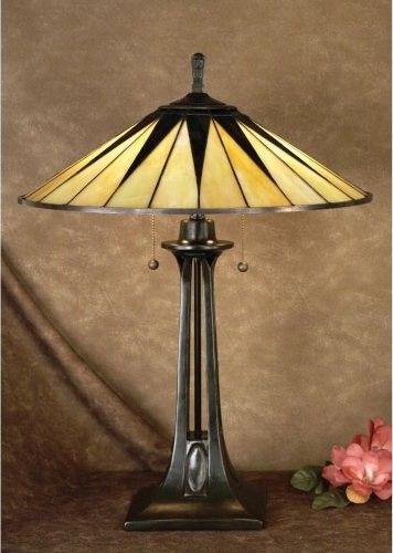 Lámpara Tiffany Art Decó