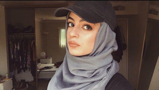 Baseball cap and Hijab ✨