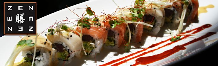Zen in Northampton, MA is not your typical college town sushi. Clean flavors and fresh ingredients make for a wonderful foodie experience. The Spicy Tuna Roll is a classic but if you happen to like a little adventure order East Meets West.