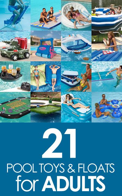 21 Ingenious #Pool Toys and Floats for Adults