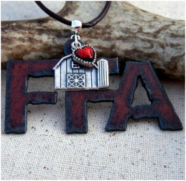 FFA Jewelry, FFA Necklace, Future Farmers, Country Girl Jewelry, Stock Show…