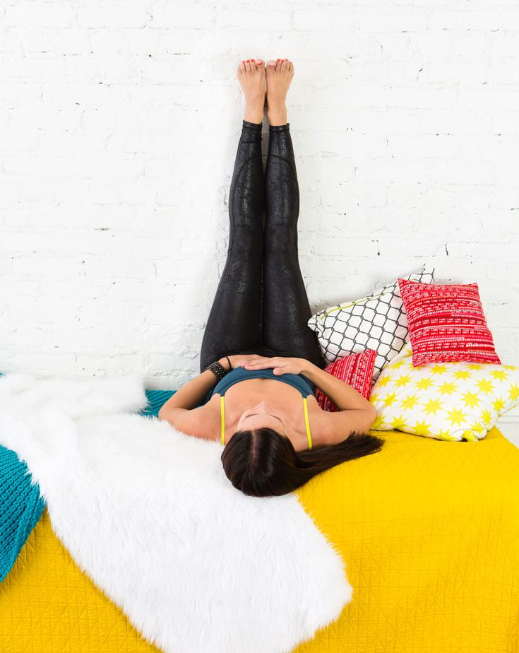 6 Yoga Poses You Can Do Without Leaving Your Bed   Yoga ...