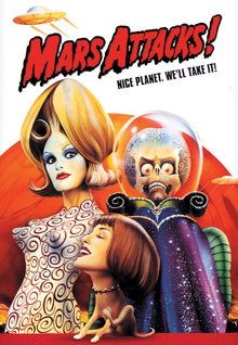 火星人が地球にやって来る! 宇宙からの交信を受けたデイル米大統領を中心に地球全体が、人類初の未知との遭遇に歓迎ムード。しかし地上に降り立った火星人は、友愛の象徴の鳩が空に舞った瞬間、レーザー銃を乱射。辺りは殺戮の戦場と化す! (1996)