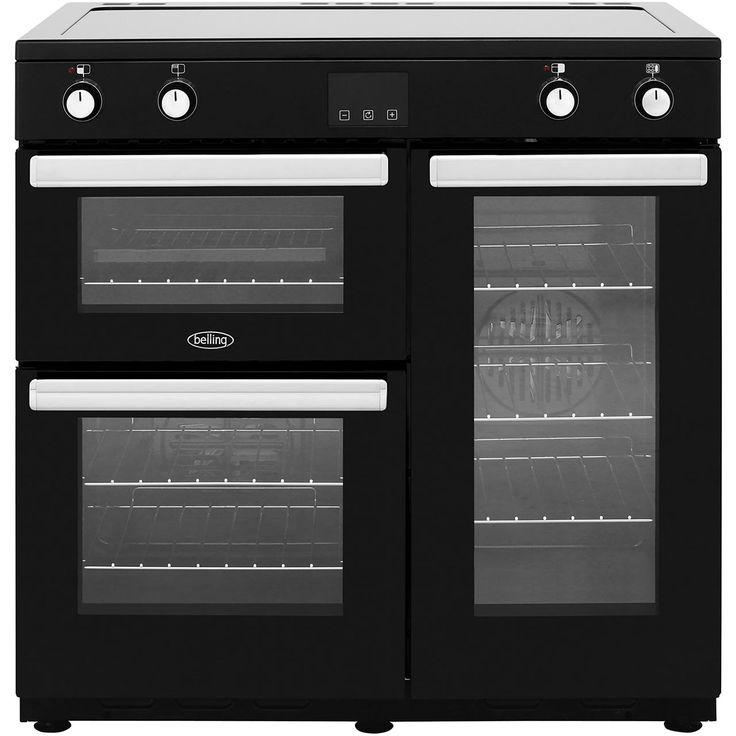 Cookcentre90Ei_BK| Belling Range Cooker | Black | ao.com