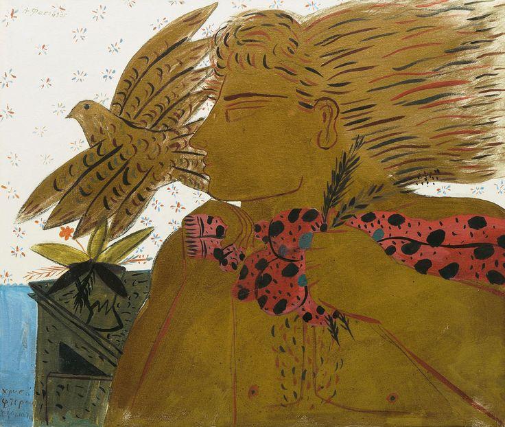 Αλέκος Φασιανός (γ. 1935) Χρυσά φτερουγίσματα