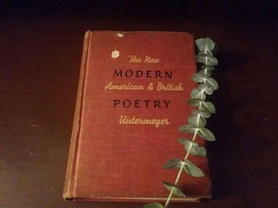 Vintage American & British Poetry Vintage Poetry Books