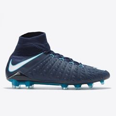 Nike Hypervenom Phantom III Dynamic Fit Firm Ground Football Boots - Blue
