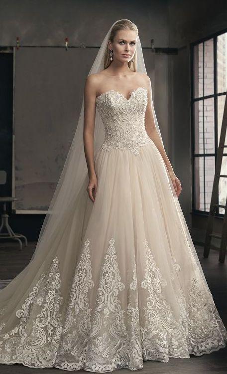 Wedding Dress Inspiration - Jasmine | Dress ideas, Wedding ... - photo #18