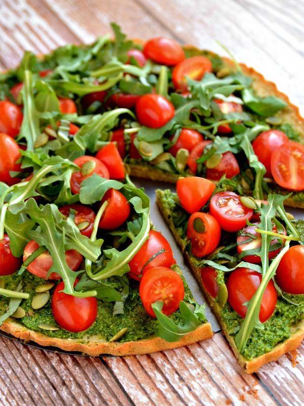 Рецепт вегетарианской безглютеновой пиццы