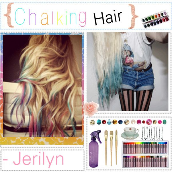 how to get chalk out of hair