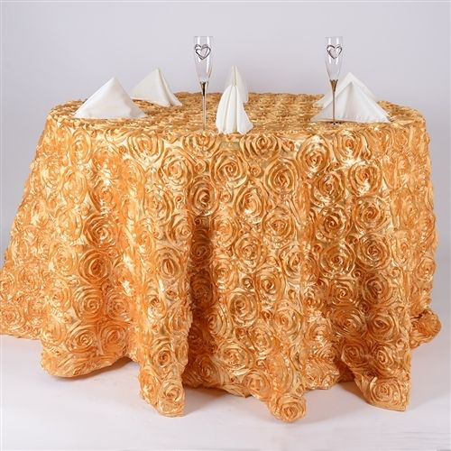 Round Tablecloth- Available in #Pintuck_Satin #Rosette_Satin #Duchess_Sequin varieties.  SHOP from fuzzy fabric and add an elegant look to your table  #round_table_cloth #tablecloth #wholesale_tablecloth #cheap_table_cloth
