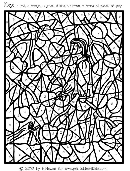 26 best images about extreme color by numbers on pinterest for Easter mosaic coloring pages