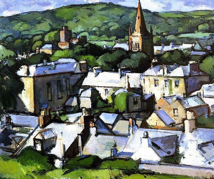 Kirkcudbright Samuel John Peploe - circa 1919