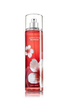 Bath & Body Works Japanese Cherry Blossom Fine Fragrance Mist 8 oz (New Look)