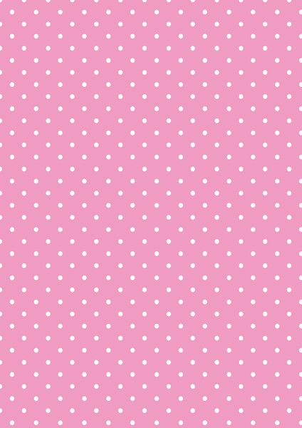 Cicideko - Digital Polka Dot Dark Pink Paper