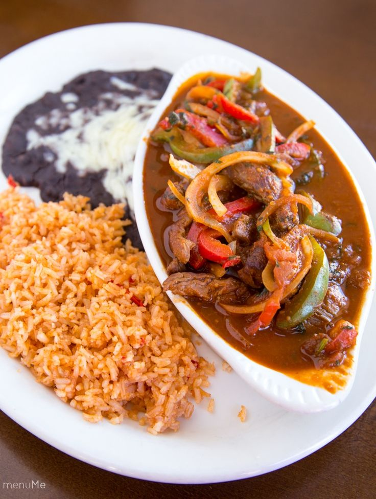 Bistec or Pollo Ranchero at Vive Sol