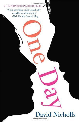 One Day by David Nicholls (It's 1988 and Dexter Mayhew and Emma Morley have only just met. But after only one day together, they cannot stop thinking about one another. Over twenty years, snapshots of that relationship are revealed on the same day—July 15th—of each year. Dex and Em face squabbles and fights, hopes and missed opportunities, laughter and tears. And as the true meaning of this one crucial day is revealed, they must come to grips with the nature of love and life itself)