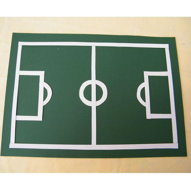 """Fußball Tischset (Idee mit Anleitung – Klick auf """"Besuchen""""!) -"""