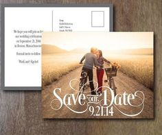 """Print your own #wedding """"Save the Date"""" and #Invitations"""