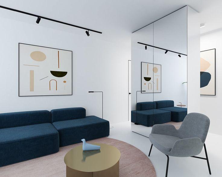 Mproject Interior Design by Emil Dervish  and Lera Brumina http://mindsparklemag.com/design/mproject-interior-design/